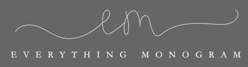 Everything Monogram | Bespoke Children's Clothing